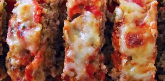 Recipe for Mozzarella Meat Loaf