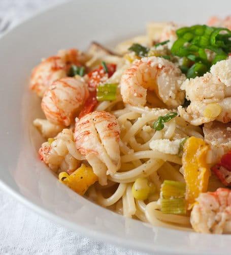 Recipe for Cajun Lobster Pasta