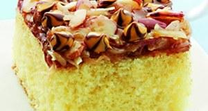 Recipe for Caramel-Almond Coconut Cake