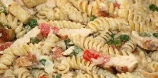 Recipe for Chicken Caesar Pasta Salad