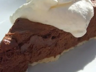 Recipe for French Silk Pie