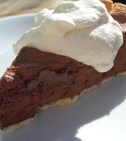 Recipe for French Silk Pie