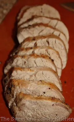 Recipe for Pork Tenderloin in an Apple Maple Brine
