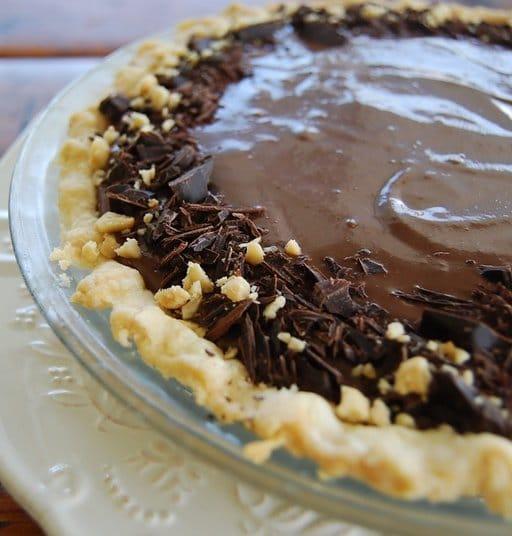 Recipe for Vegan Chocolate Banana Pie