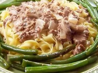 Recipe for Slimmed-Down Stroganoff