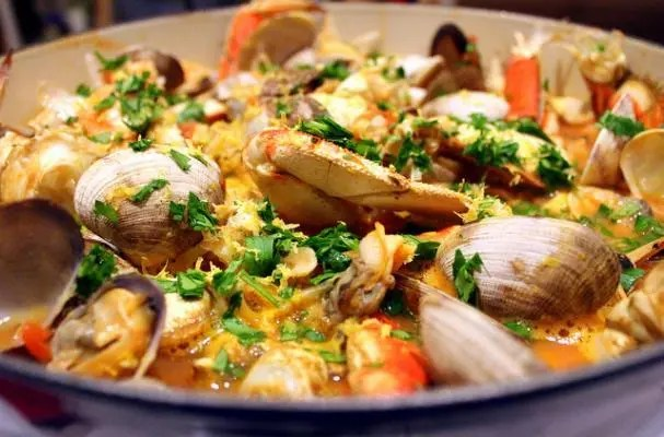 Seattle Style Cioppino Seafood Stew Recipe Stl Cooks