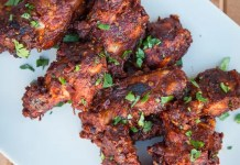 Recipe for Chicken Wings with Easy Mole Sauce