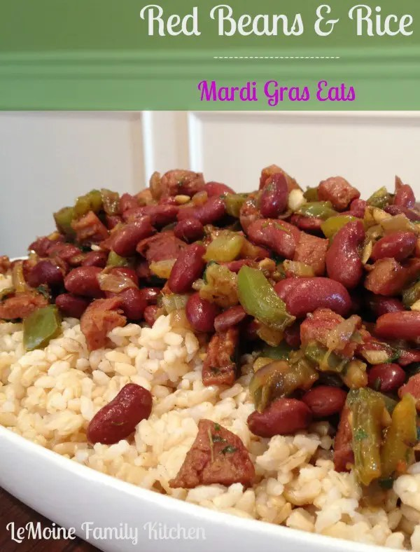 Mardi Gras Red Beans and Rice