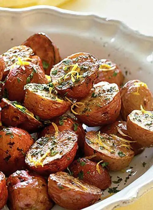 Roasted Potatoes with Bacon and Rosemary