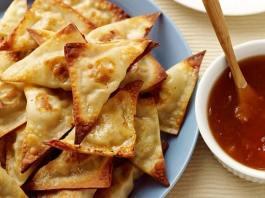 Recipe for Crispy Thai Pork and Shrimp Wontons