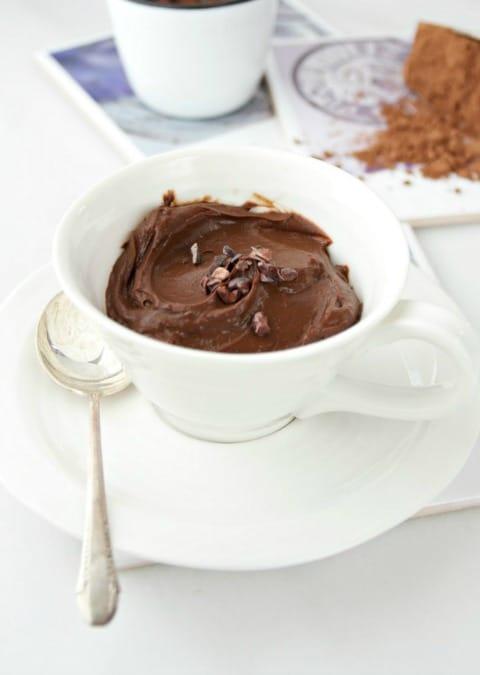 Vegan Chocolate Espresso Pudding