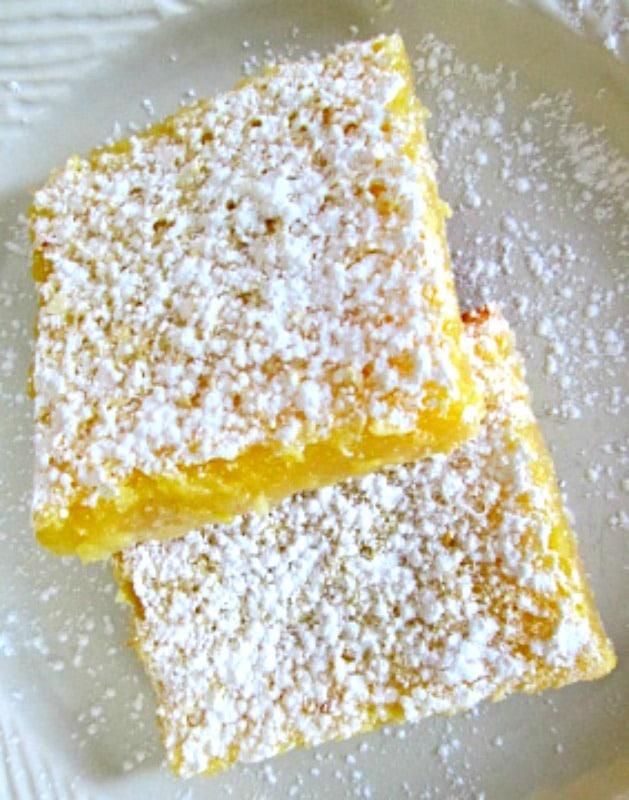 Sweet and Tart Lemon Bars