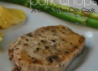 These Seasoned Crock Pot Pork Chops have amazing flavor and they are so tender. Probably the best pork chop ever, they really are.