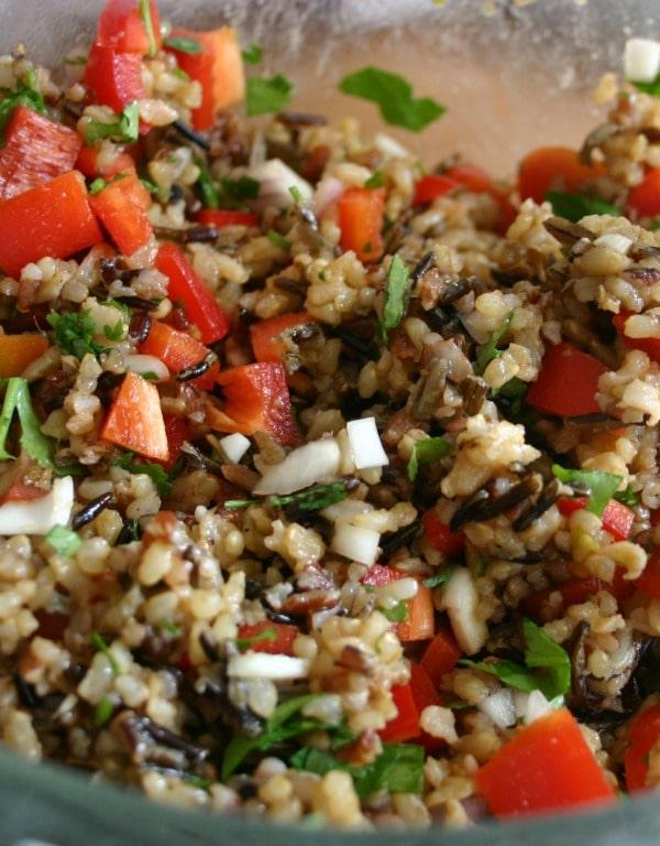 Wild Rice-Cucumber Salad