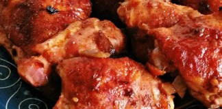 Recipe for Chicken Thighs with Homemade Barbeque Sauce