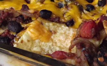 Recipe for Baked Taco Lasagna