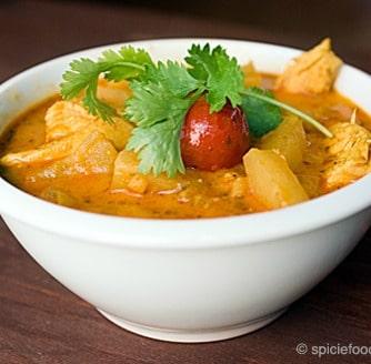 Luscious Thai Chicken Pineapple Curry