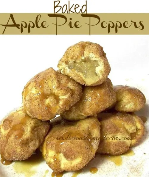 Recipe for Apple Pie Poppers