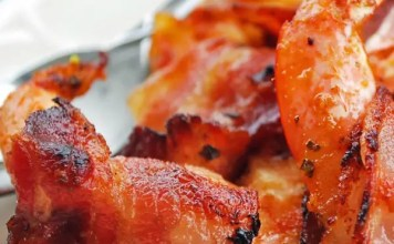 Recipe for Bacon-wrapped Shrimp
