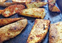 Recipe for Cajun Potato Wedges
