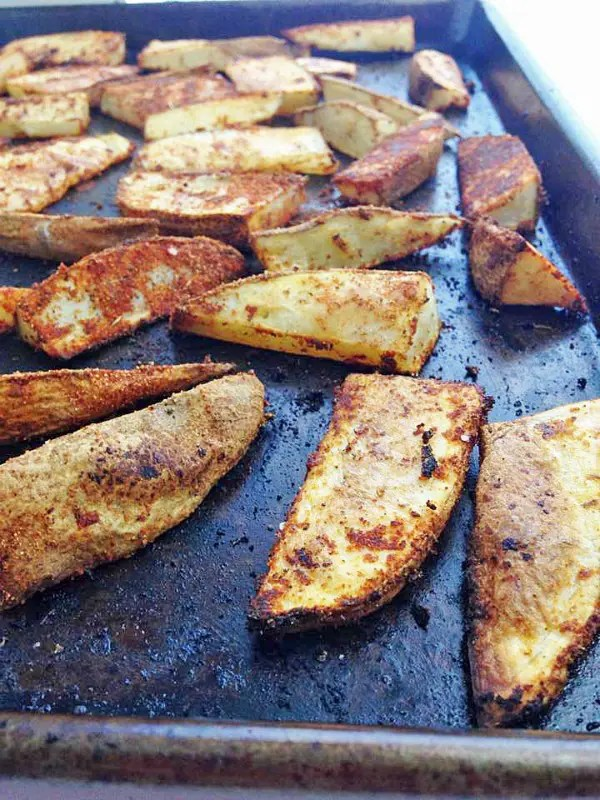 Crispy, Spicy, and Delicious. These Cajun Potato Wedges are the perfect side for almost any dish.