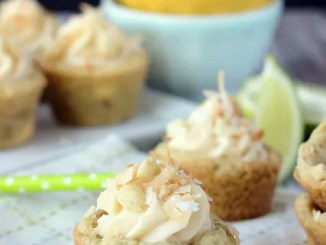 Key Lime Cheesecake Cookies