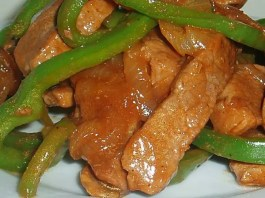 Recipe for Pepper Steak - Strips of beef and peppers are stir fried to create a delicious main dish, ready in no time! I love stir fried anything, and this pepper steak is always a huge hit!