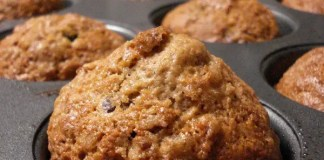 Recipe for Blueberry Cereal Muffins