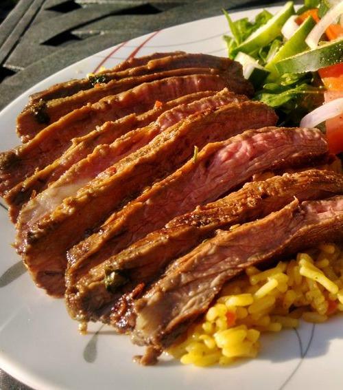 Cilantro Lime Skirt Steak