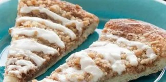 Recipe for Cinnamon Crumble Pizza