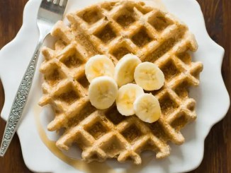 Recipe for Delicious Peanut Butter Waffles