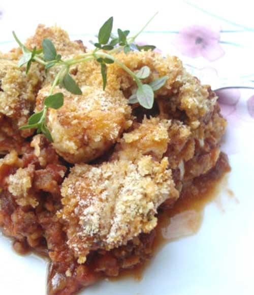 Recipe for Cauliflower and Sausage Casserole