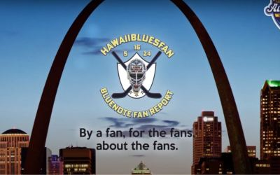 Guy Bensing's ST. Louis Fan Report has a pre/post game and intermission show that is for and About the #1 Fans.