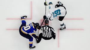 Faulk 2, Hoffman and Kyrou lead Blues past Sharks.