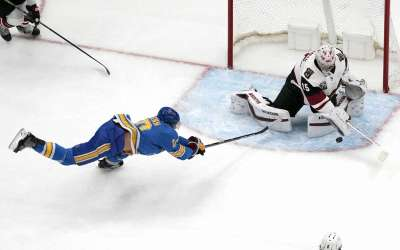 What's up with the St. Louis Blues? Face Yotes for 5th straight time.