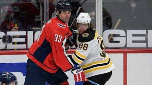 Zdeno Chara's Capitals beat the Bruins in a shoot out 2-1. Chara's return Emotional.