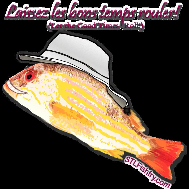 Cajun-Fishie 2021 (Large 18 x18 Printable version) 2 small
