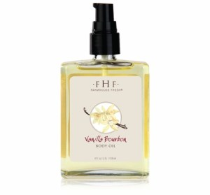 Vanilla Bourbon Body Oil Farmhouse Fresh