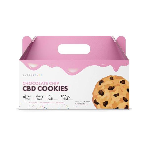 CBD Chocolate Chip Cookie - Sugar & Kush