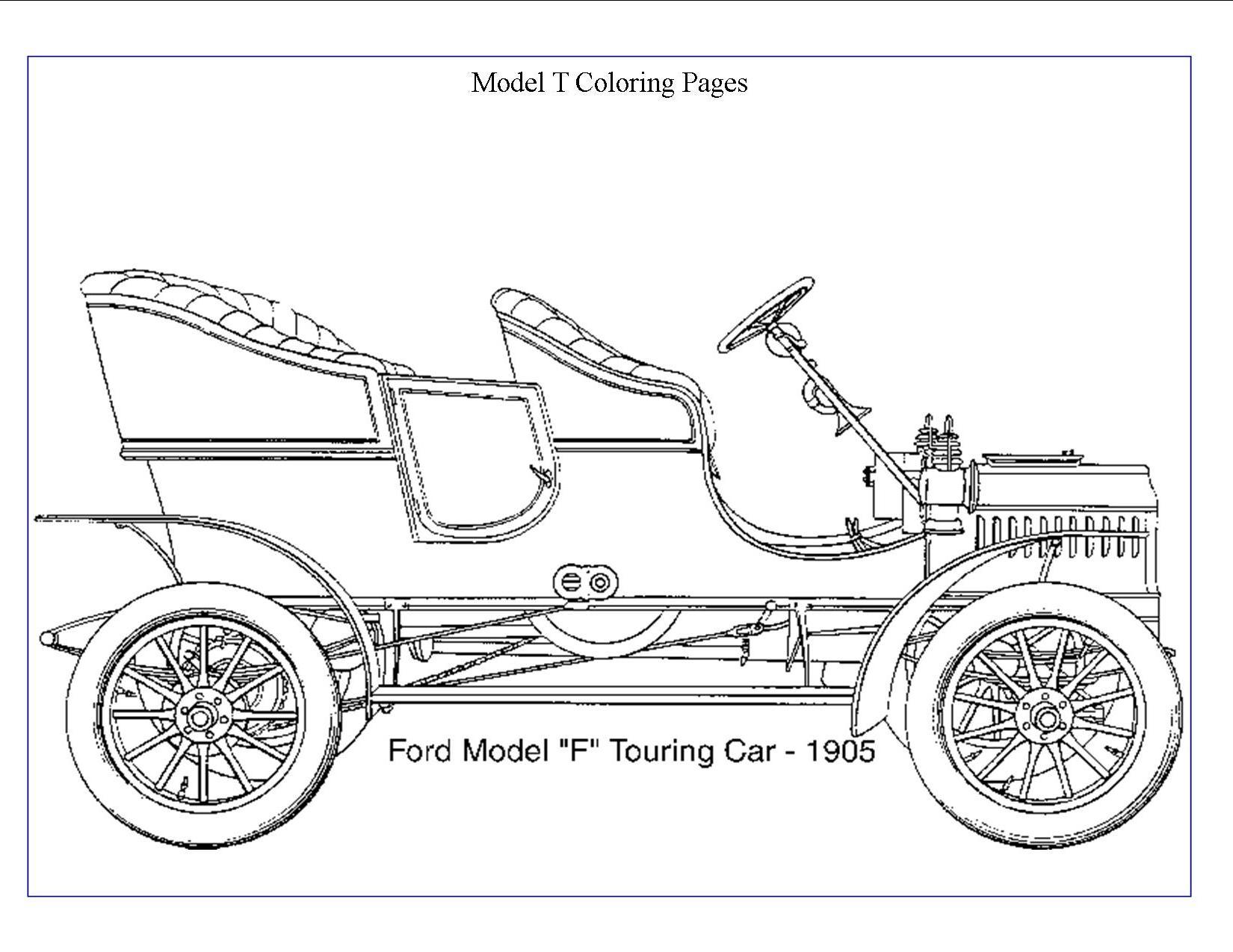 Ford Model A Wiring Diagram