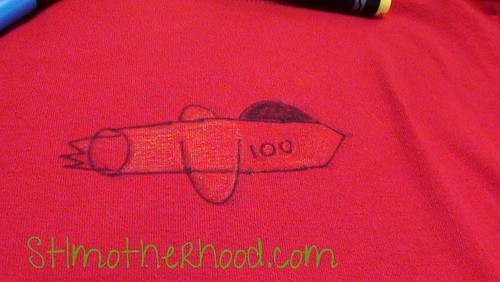 Craft Fail: Crayola Bright Fabric Markers