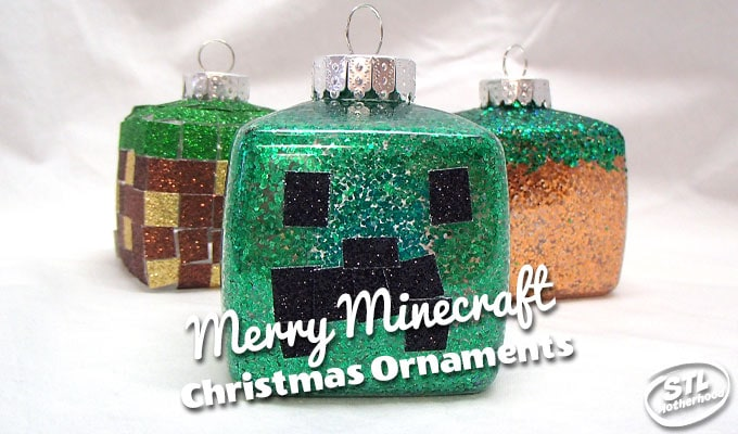 Minecraft Christmas Ornaments