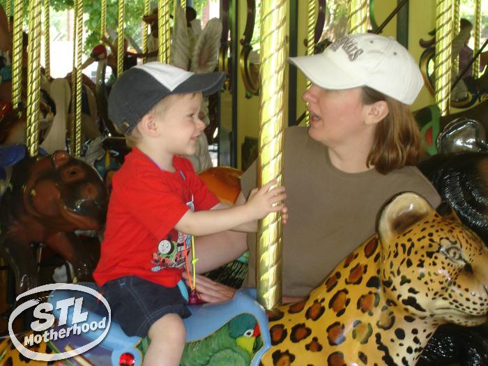St Louis Zoo carousel