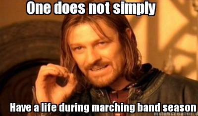 marching band meme