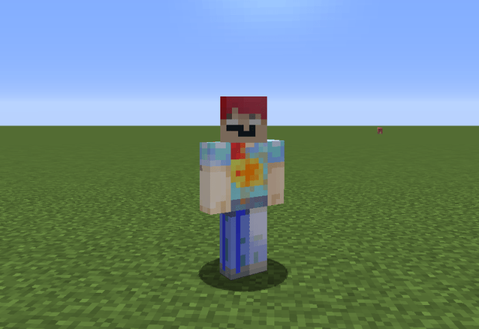 minecraft skin Dont touch that