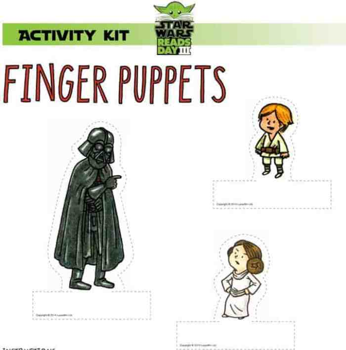 Star Wars Reads 2014 free printable