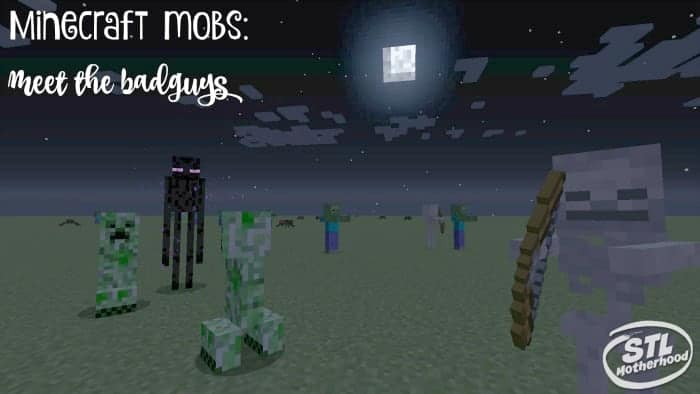 minecraft mobs meet the bad guys