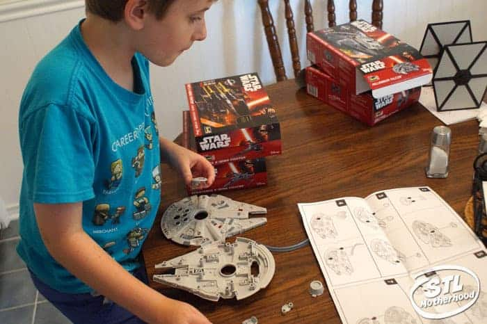 building the falcon