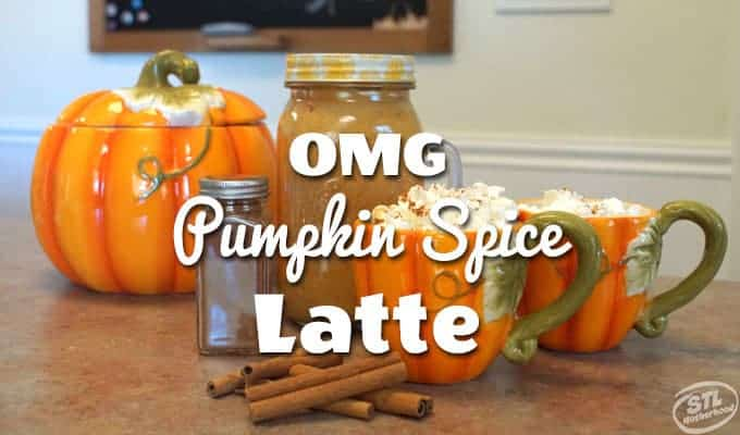 OMG Pumpkin Spice Latte Recipe
