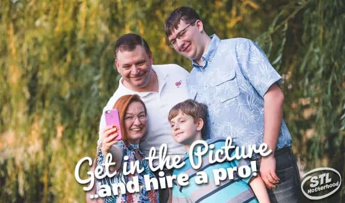 Get in the Picture Mom–Hire a Family Photographer